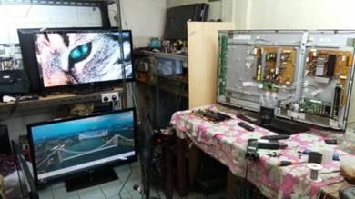 Repair and service tv