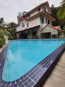 3sty Bungalow Corner Huge Lap Pool Mutiara Homes Mutiara Damansara KL