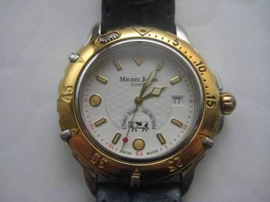 Swiss made watch michel jordi