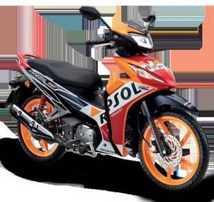Honda dash 125 repsol promosi seminggu