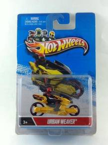 Hotwheels Motorcycle with Riders - Urban Weaver