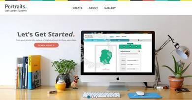 Modern Website Web Design