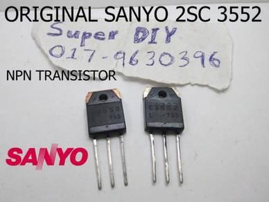ORIGINAL NEW SANYO 2SC3552 NPN TRANSISTOR for DIY