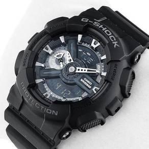 Casio G SHOCK LARGE FACE GA110-1B BLACK-ORIGINAL