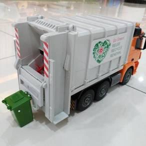 R/C lori sampah GARBAGE TRUCK Battery Powered