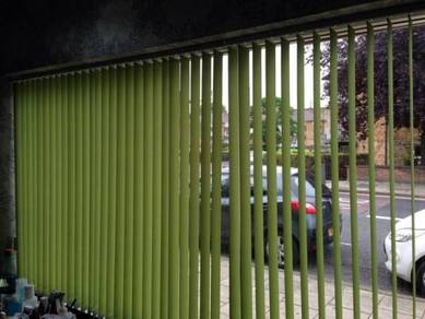 Express Office Vertical Blind with Installation 8n