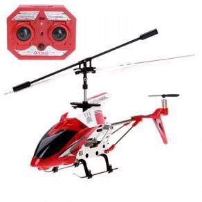 Red mini RC helicopter 3.5ch fun to fly