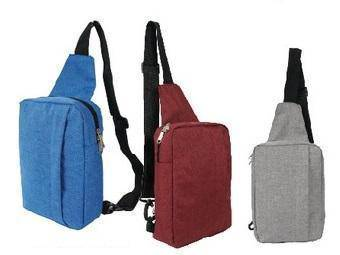 Borong Triangle Knapsack Pouch Bag