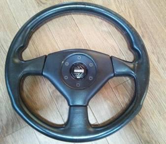 Ori Steering Evo 4 MOMO Mitsubishi for Wira Satria