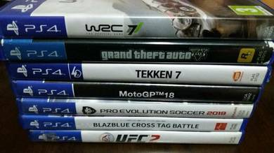 Ps4 games2 used like new