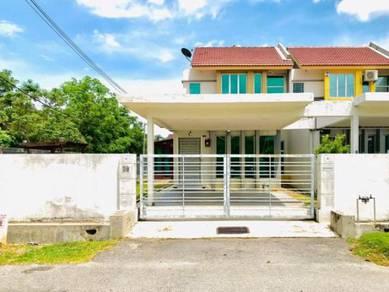 Corner Lot Fully Renovated Taman Bandar Baru Sungai Udang Full Loan