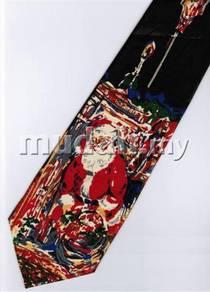 Christmas Cartoon Novelty Fancy Neck Tie 20