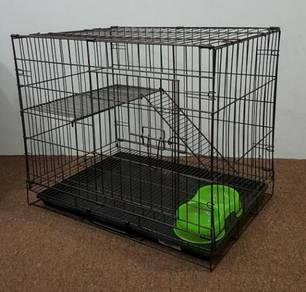Sangkar Kucing 1 tingkat (cat cage)