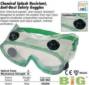 Kennedy Safety Goggle AntiSplash Dust SE1116 MOQ3