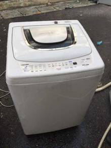 10kg Mesin Basuh Automatic Toshiba Washer Top Load