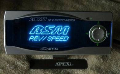 Apexi RSM Blue Screen Rev Speed Meter