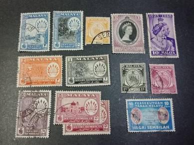 Stamp NEGERI SEMBILAN X607