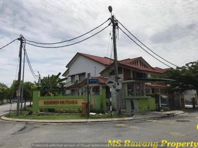 Residen Mutiara GROUND Floor CORNER [2560 SF] Town House ,Desa Mutiara