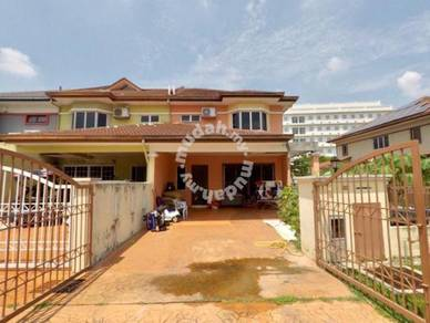 END LOT 2 Storey Seksyen 7 Shah Alam Facing Open RENO Terrace House