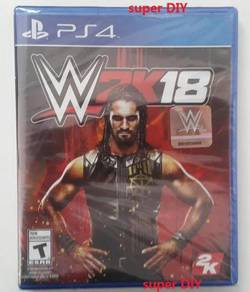 PS4 WWE 2K18 game CD PS4