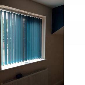 Modern Office Vertical Blind with Install 7n3c6y