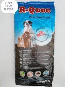 R-Q Dry Dog Food Feed Lamb 15kg Makanan Anjing