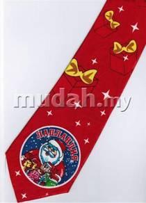 Christmas Cartoon Novelty Fancy Neck Tie 17