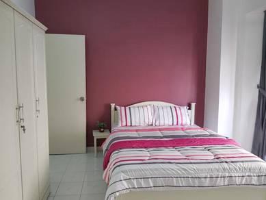 Fully Furnished 3 rooms Straits Court Condominium Melaka