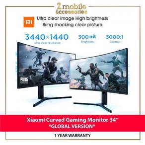 Xiaomi 34 inch gaming monitor curved (NEW)