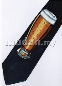 A Glass of Draft Beverage Neck Tie