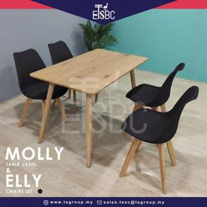 Molly table + elly chair