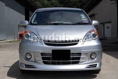 Perodua Alza Modelista Front Bumper