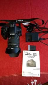 Canon eos 750d camera set