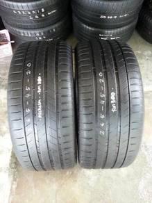Tayar 265/45/Rim 20 Michelin Ps3.75%