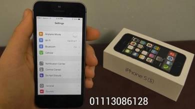 Iphone 5s 16gb rom -set ll ful box seconhan