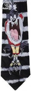 Taz Tazmania Football Novelty Cartoon Neck Tie