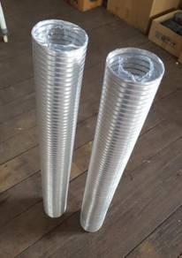 Paip Ekzos Aluminium Dapur
