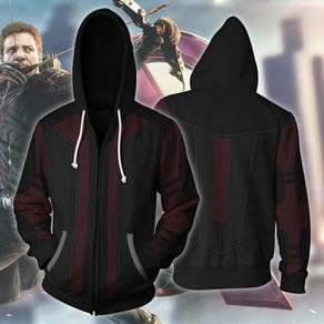 Avengers hawkeye Hoodie jacket RBT0084