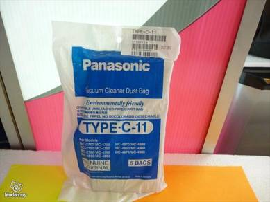 New Panasonic Vacuum Cleaner DUST BAG type C-11