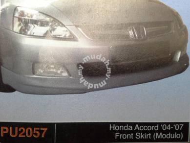 Honda accord 04 to 07 modulo pu bodykit x paint