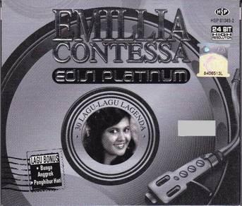 CD EMILLIA CONTESSA Edisi Platinum 2CD
