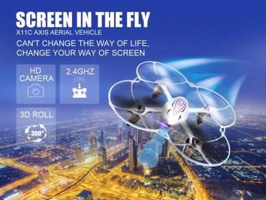Syma X11C RC Drone with 2.0MP Camera HD 4CH
