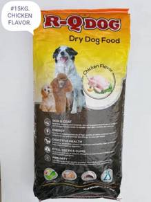 R-Q Dry Dog Food Feed Chicken 15kg Makanan Anjing