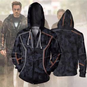 Tony stark ironman avengers Hoodie jacket RBT0081