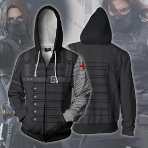 Winter soldier avengers Hoodie jacket RBT0082