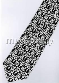 Tim Burton's Nightmare Christmas Cross Neck Tie