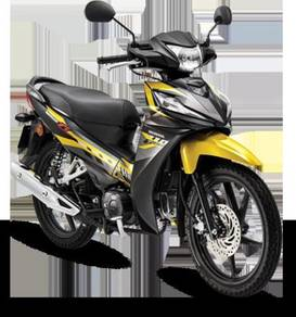 Honda wave alpha model baru
