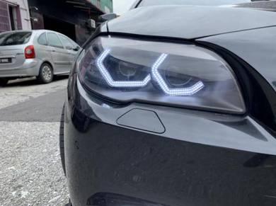 BMW F10 DRL angel eye F10 LED DRL light F10 M5