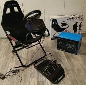 Logitech G29 Driving Force & Seat Simulator