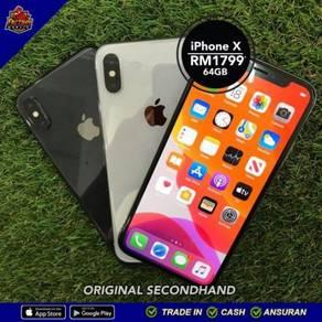 ORIGINAL Apple Iphone X + 3 FREEGIFT